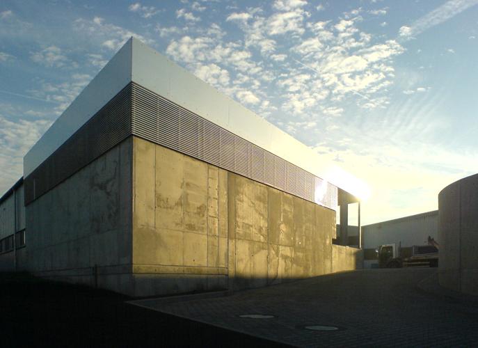 Gewerbebau Portfolio Architekt Bda Hans Hesselbach